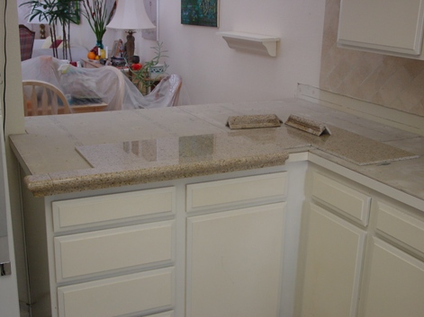 Granite Tile Countertops Over Laminate Contractor Talk Professional Construction And Remodeling Forum