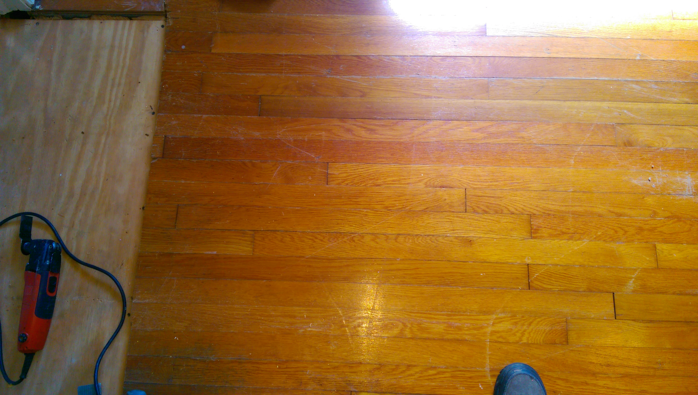 Toothing In Hardwood Floor Repair