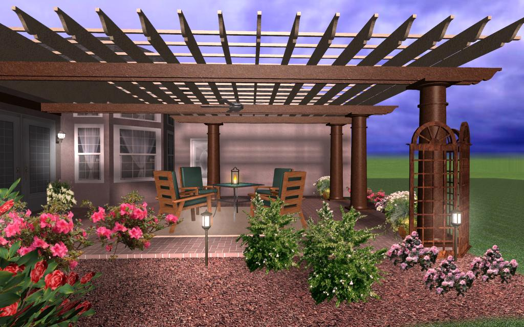 pergola end designs bing images