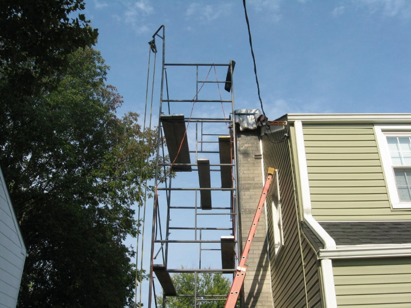 Stucco Chimney Project - Masonry - Contractor Talk