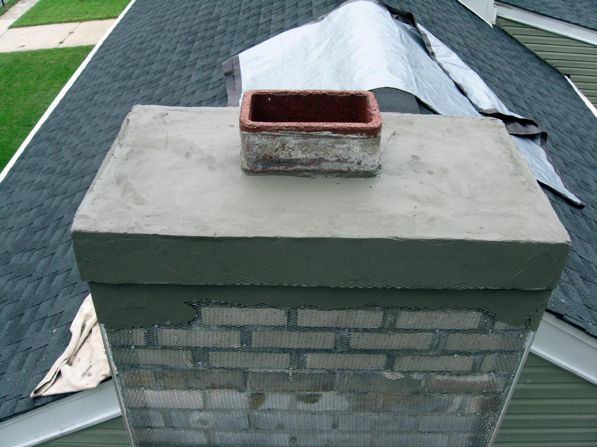 Stucco Chimney Project Masonry Contractor Talk