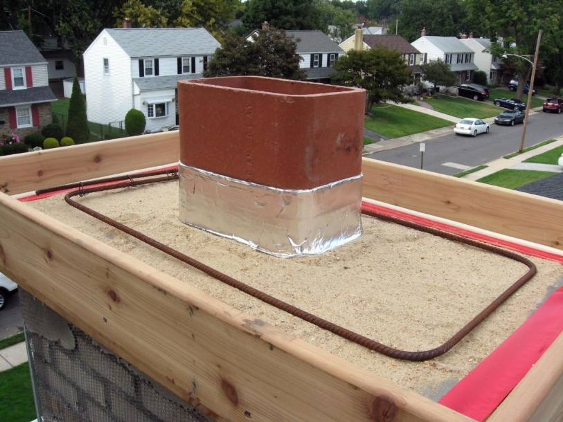 Cement Chimney Repair : Chimney cap repointing report page masonry