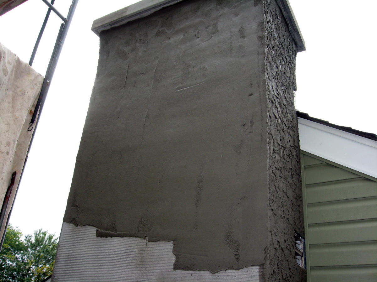 Stucco Chimney Project Page 2 Masonry Contractor Talk