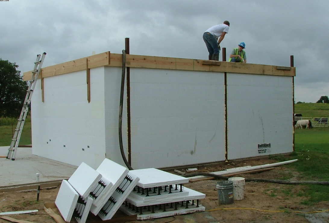 Safe Room Steel Building Construction Picture Post