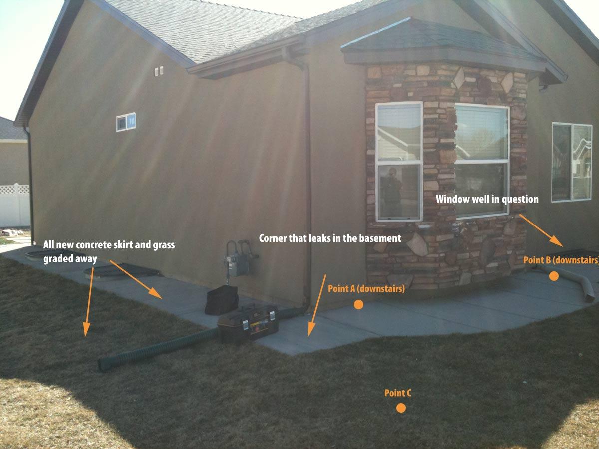 Basement Footings/walls Poured Wrong, Now Basement Leaks