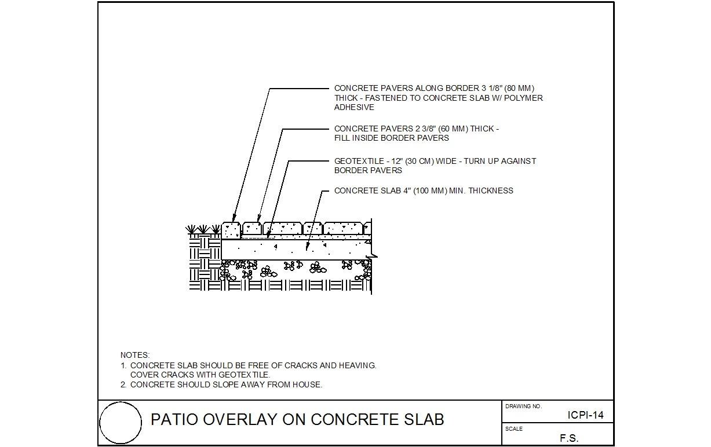 ep henry patio bricks over concrete patio with thinset - masonry