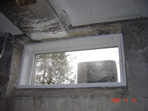New Basement Windows Installed Without Screws General