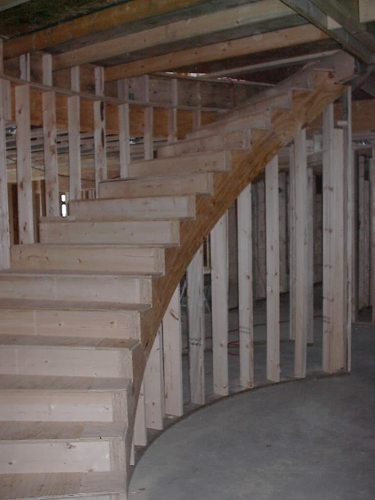 A Rough Stair Should Be Built Finish Carpentry