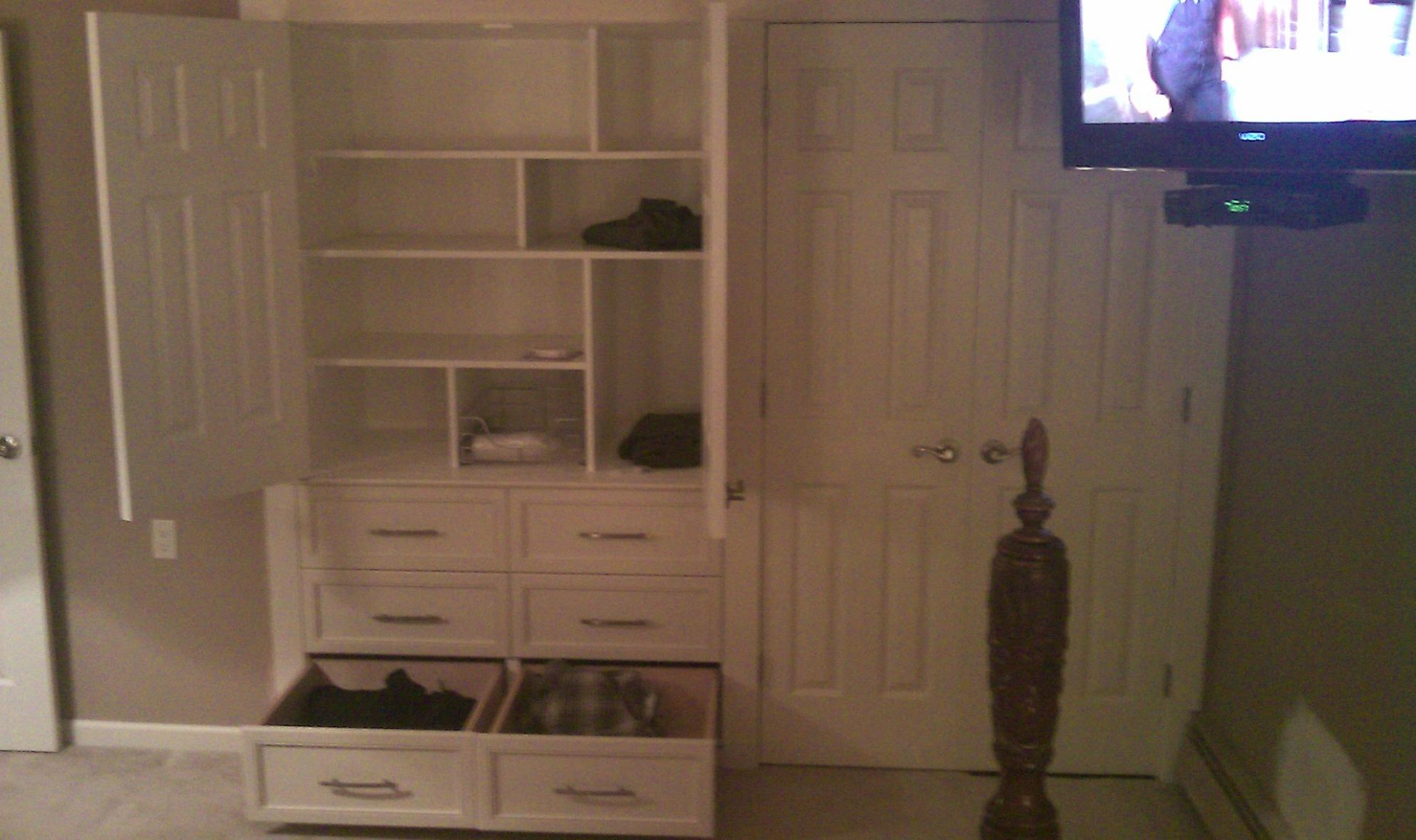Camouflage Built In Closet Finish Carpentry Contractor