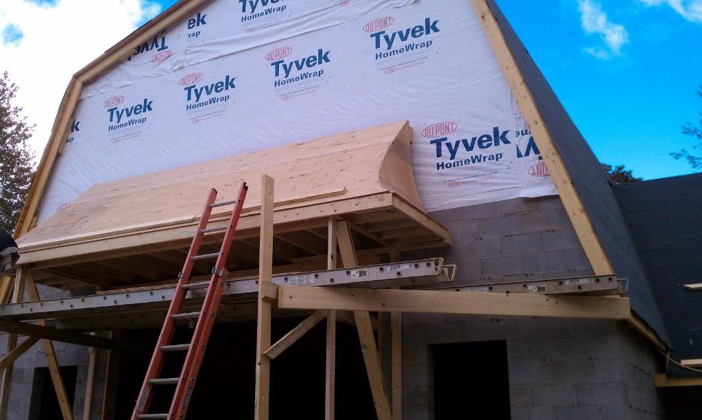 Back Door Overhang Carpentry Contractor Talk