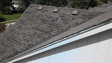 What Does Hail Damage Look Like Roofing Contractor Talk