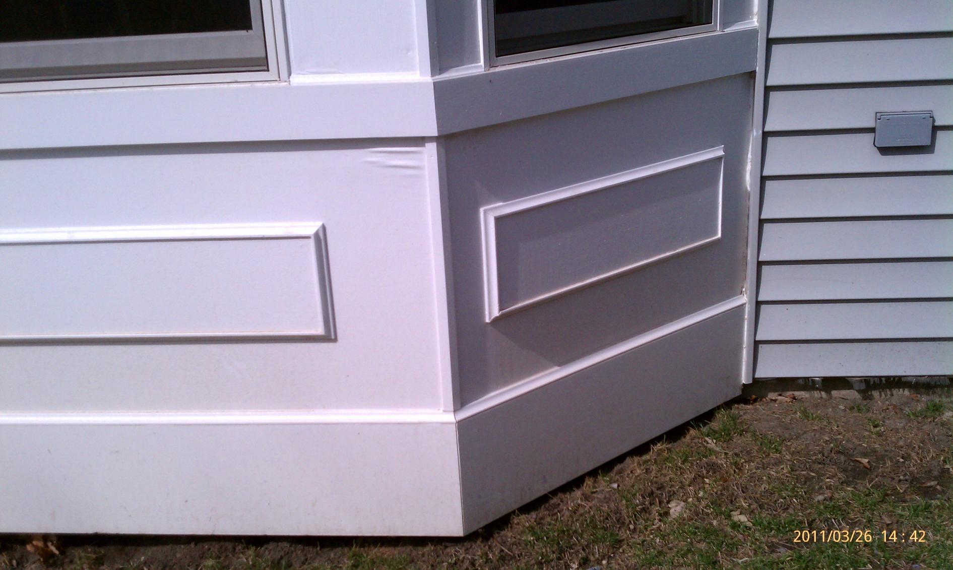 Bubbling Mdo Panel Painting Amp Finish Work Contractor Talk