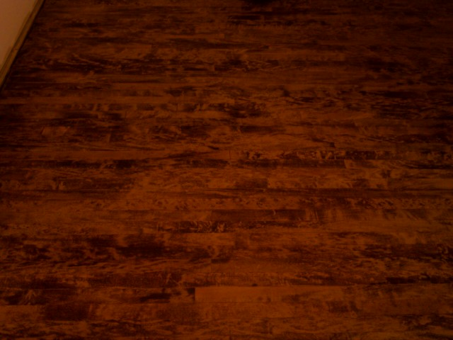 Staining Hardwood Floors - Obtaining Room Harmony