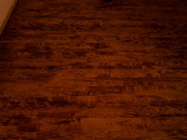 Hardwood Floor Blotchy Stain Absorption