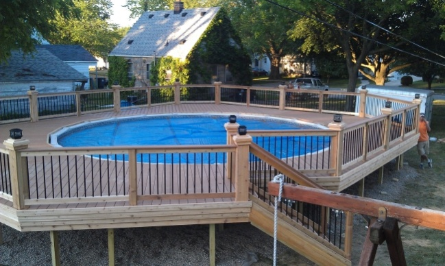 Pool deck decks fencing contractor talk for Pool deck design tool