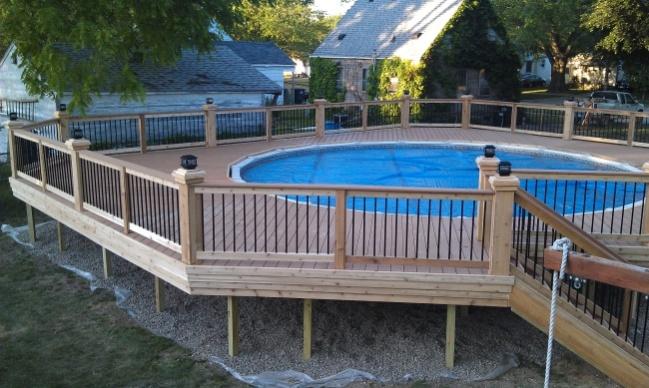 Pool Deck Decks Amp Fencing Contractor Talk