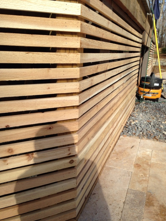 Deck lattice carpentry picture post contractor talk for Alternative to decking