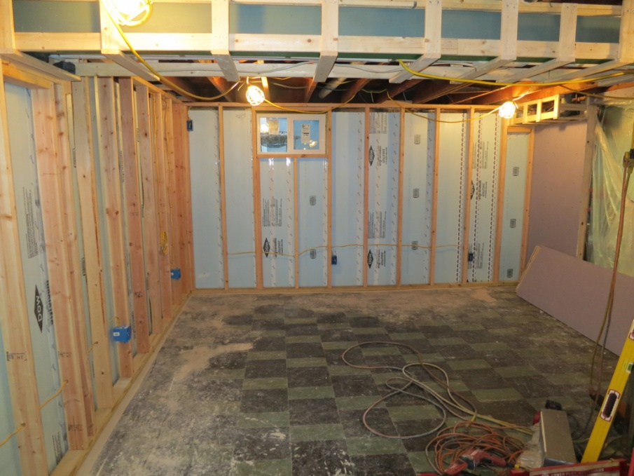 Basement framing techniques page 3 framing for Basement construction methods