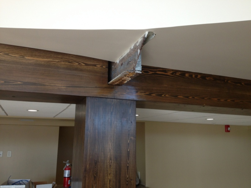 Covering Up Steel I Beams Finish Carpentry Contractor Talk