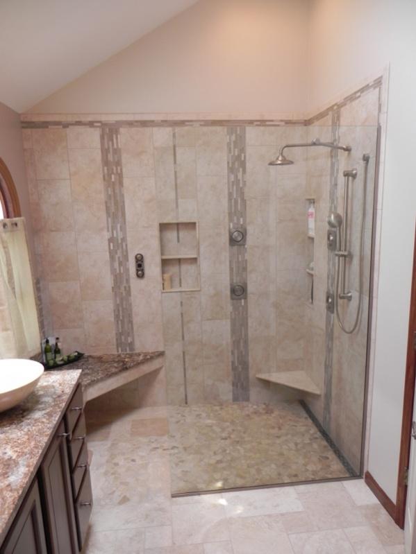 wedi shower install
