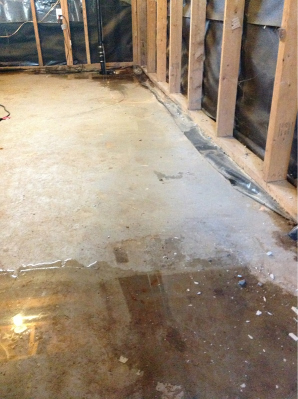 basement water infiltration general discussion contractor talk