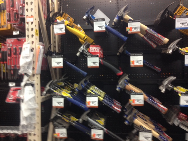 socal hd closing out some framing hammers