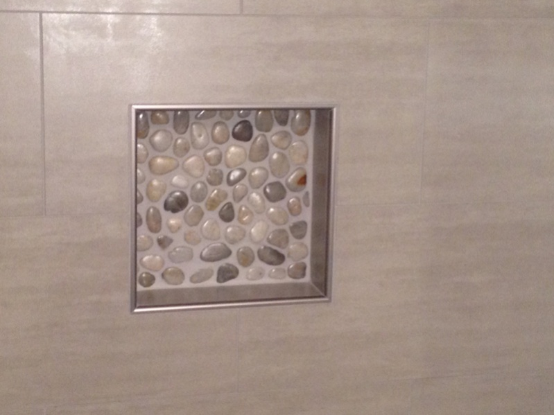 Long Time Admirer, First Time User Of Pebble Stones For A Shower Floor