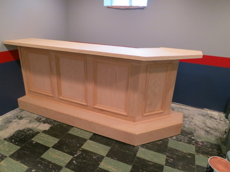 Custom bar build page 2 finish carpentry - Image of bar ...