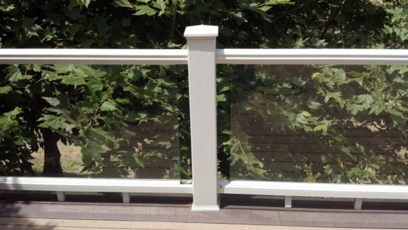 Code for glass panel railing decks fencing