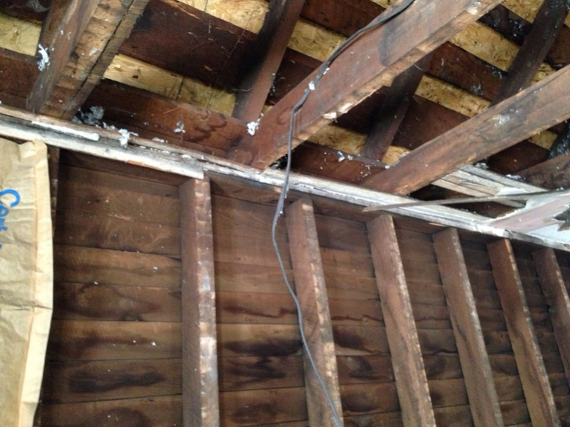 Cutting In Ridge Beam Roofing Contractor Talk