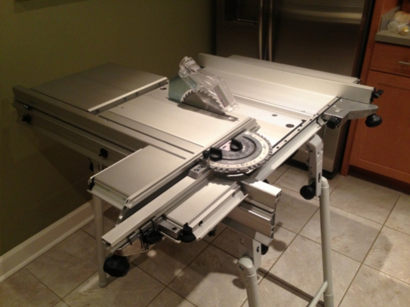 Portable Table Saw Outfeed Table Tools Amp Equipment