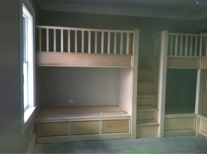 Built In Bunk Beds - Page 2 - Carpentry Picture Post - Contractor Talk