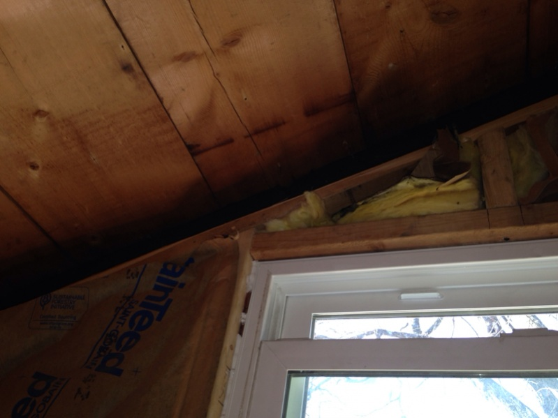 Insulating Venting 2x6 Ex Porch Roof Remodeling