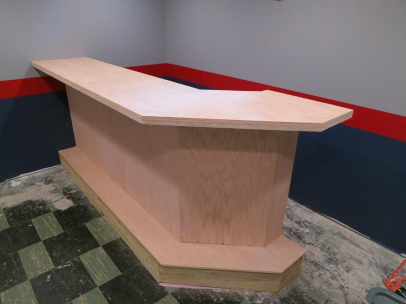 Custom Bar Build... - Finish Carpentry - Contractor Talk
