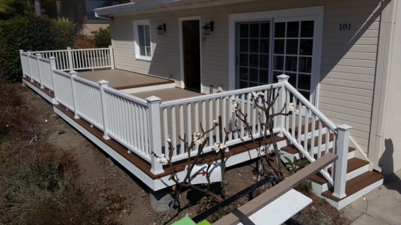Another trex deck decks fencing contractor talk for Portico cost estimate