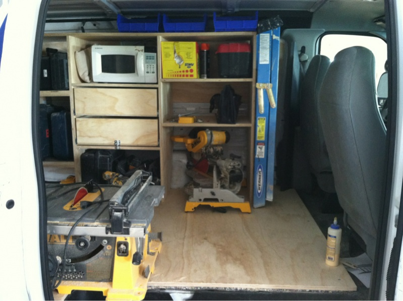 Setting Up My E 350 Extended Cargo Van Page 3 Vehicles