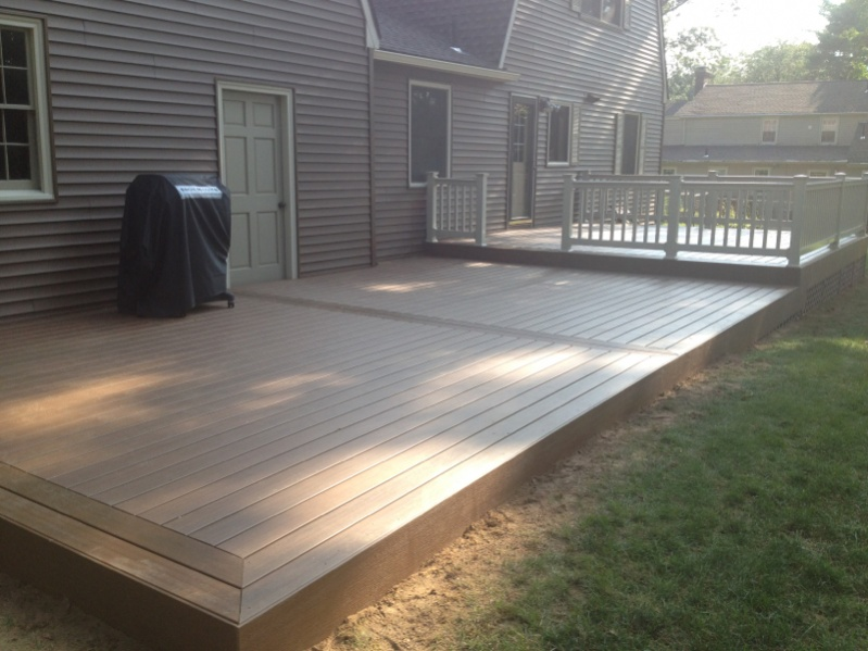 Wolf composite deck boards decks fencing contractor talk for Outdoor composite decking