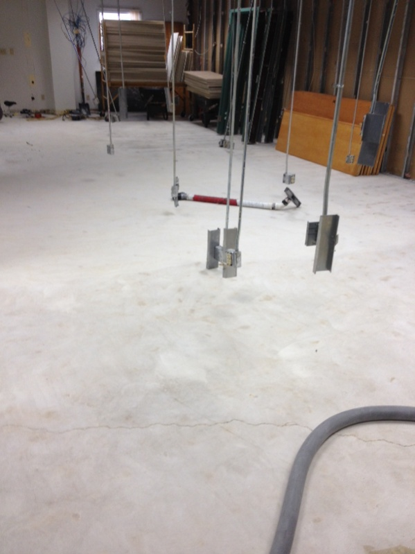 Need concrete leveling advice flooring contractor talk for Concrete floor leveling