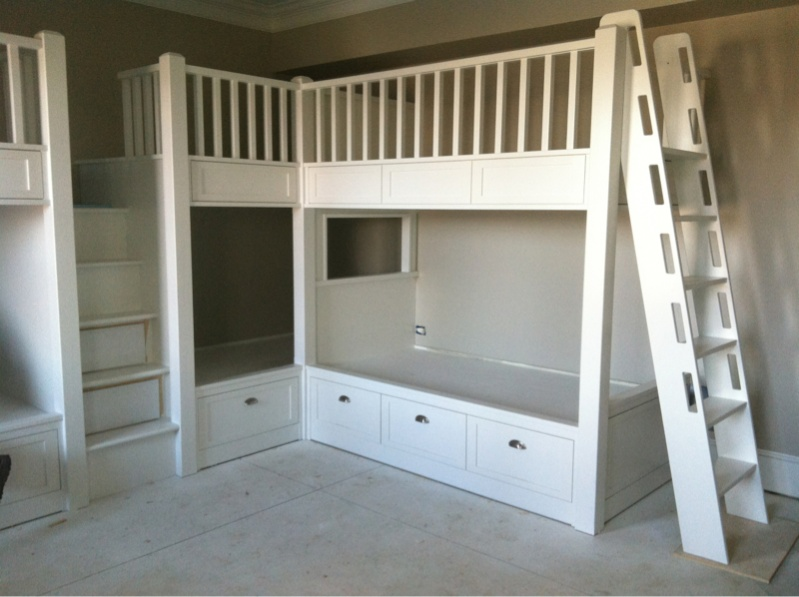 built in bunk beds page 3 carpentry picture post. Black Bedroom Furniture Sets. Home Design Ideas