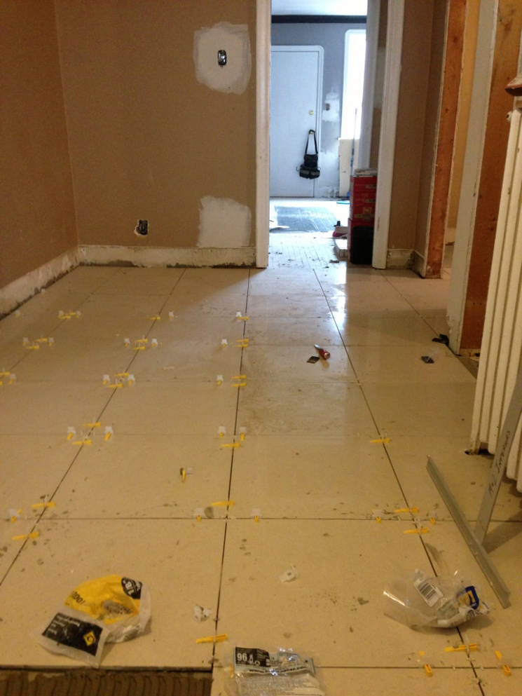 How much to tile floor