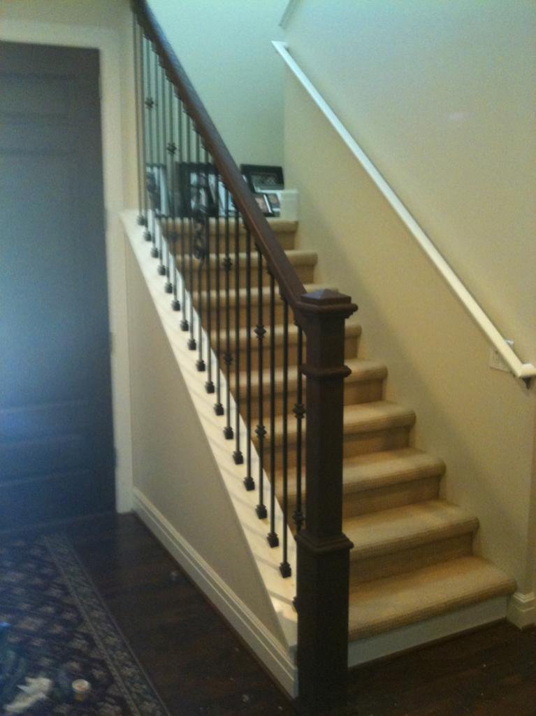 Metal Handrails For Stairs Exterior Aluminum Handrails