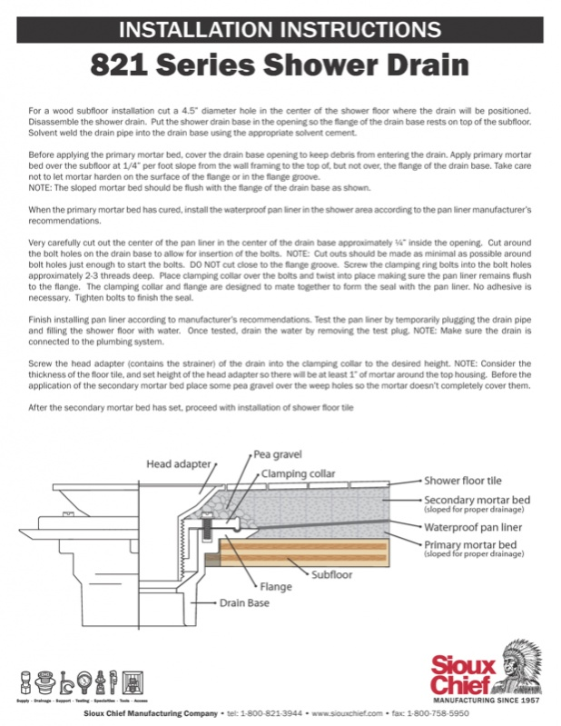 how to install shower pan liner shower pan liner drain question image jpg