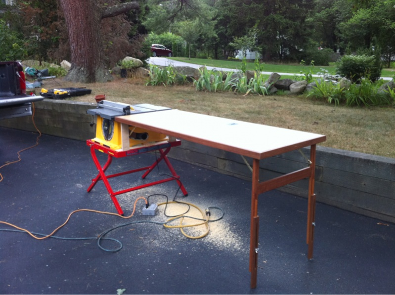 Dewalt Jobsite Saw Stand Options Tools Equipment Contractor Talk