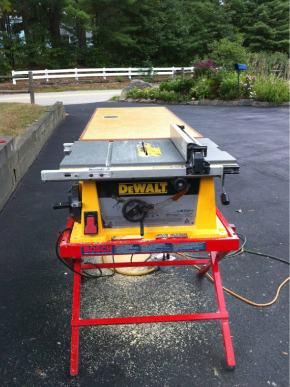Dewalt Jobsite Saw Stand Options Carpentry Contractor Talk