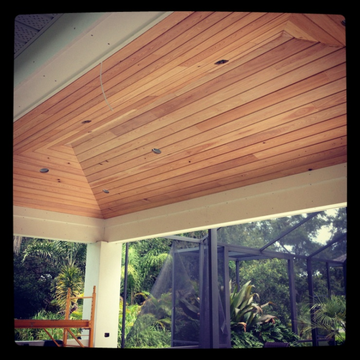 T g vaulted hip ceiling carpentry picture post for T g roofing
