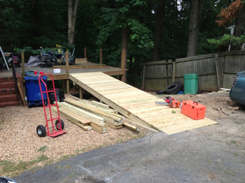 Bed Frame Plans Full Simple Handicap Ramp