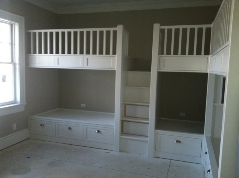 Built In Bunk Beds Page 3 Carpentry Picture Post
