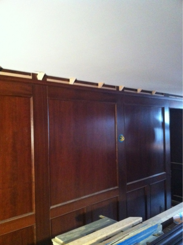 floor molding crown molding on concrete ceiling finish carpentry contractor talk