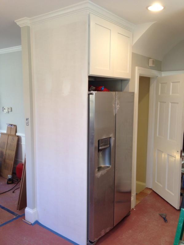 diy kitchen cabinet install