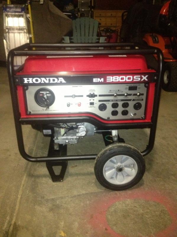 Honda generator tools equipment contractor talk for Honda financial services customer service number